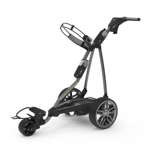 Powakaddy Electric Golf Trolley 2019 FW7s Gps Bt Gun Metal