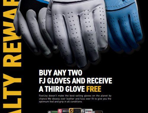 FootJoy Golf Gloves Loyalty Rewarded Campaign