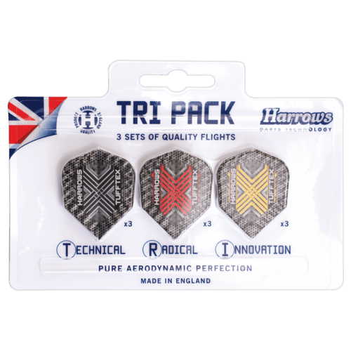 Harrows Tuftex Flights Tri-Pack