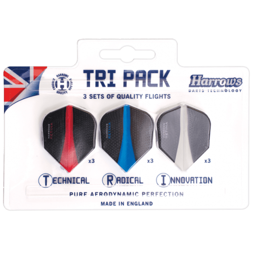 Harrows Retina Flights Tri-Pack