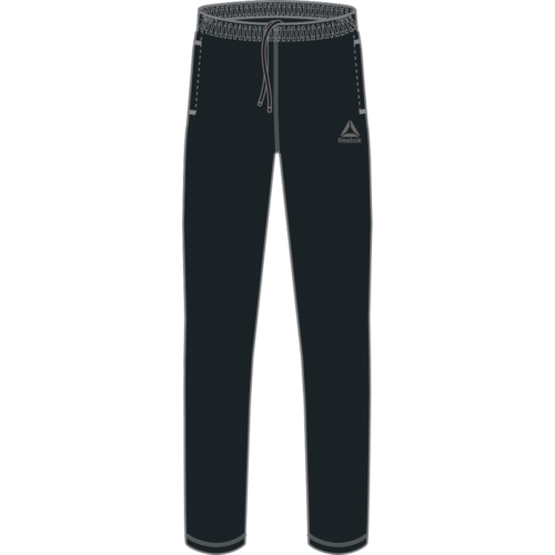 Reebok Training Essentials Fleece Open Hem Pants