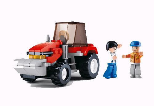 Play Bricks - Farm Tractor
