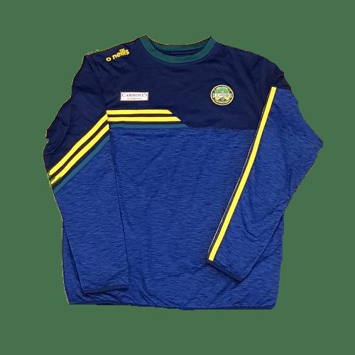 O'Neills Nevis Crew Neck 3-Stripes Offaly 19/20