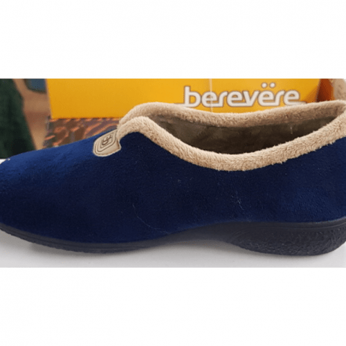 Berevëre Navy/Beige Slippers Ladies