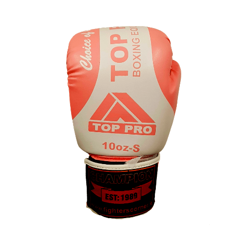 Top Pro Champion Boxing Gloves - Pink